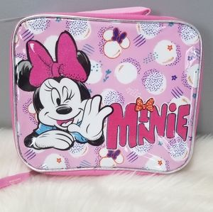 NEW minnie mouse lunchbox school supply backpack